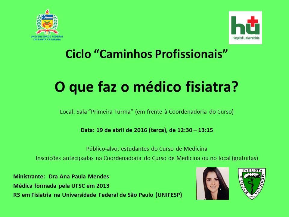 Aviso palestra Ana Paula